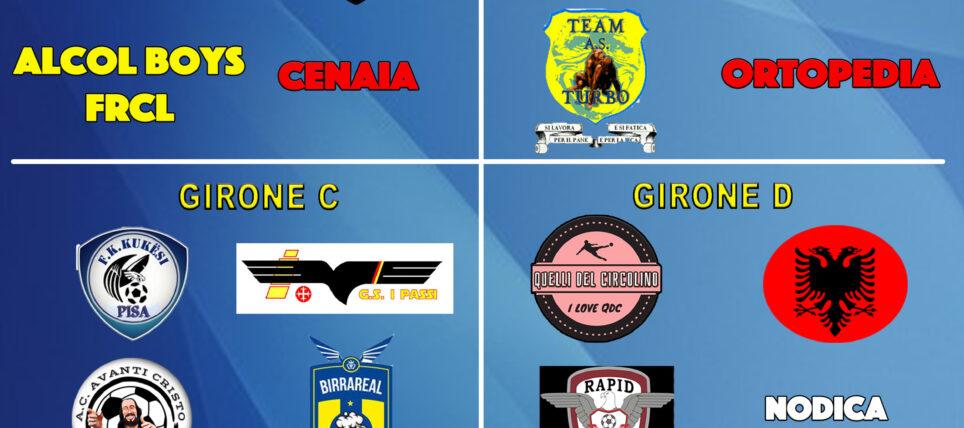 Torneo della Ripartenza di Calcio a 5. Classifiche, formula, programma e risultati.